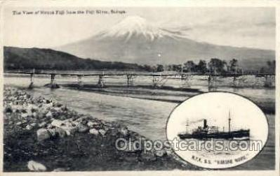 nyk001226 - S.S. Hakone Maru Nippon Yusen Kaisha Ship, NYK Shipping Postcard Postcards