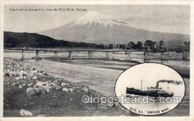 nyk001229 - S.S. Hakusan Maru Nippon Yusen Kaisha Ship, NYK Shipping Postcard Postcards