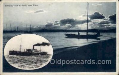 nyk001239 - S.S. Katano Maru Nippon Yusen Kaisha Ship, NYK Shipping Postcard Postcards