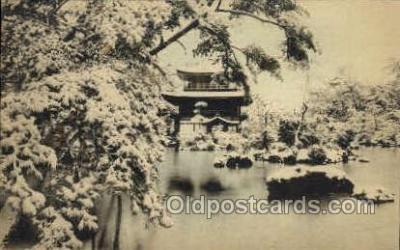 nyk001258 - Kinkakuji, Kyoto Nippon Yusen Kaisha Ship, NYK Shipping Postcard Postcards