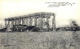 NYK001386 - Kawasaki Ship Building Yard, Kobe  N.Y.K. Nippon Yusen Kaisha Ship Ships