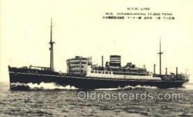 NYK001387 - M.S. Hikawa-Maru N.Y.K. Nippon Yusen Kaisha Ship Ships