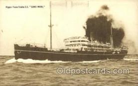 NYK001388 - S.S. Suwa Maru N.Y.K. Nippon Yusen Kaisha Ship Ships