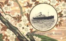 NYK001393 - S.S. Hakone Maru N.Y.K. Nippon Yusen Kaisha Ship Ships