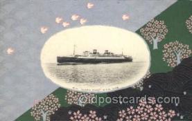 NYK001396 - S.S. Asama Maru N.Y.K. Nippon Yusen Kaisha Ship Ships