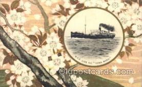 NYK001399 - S.S. Suwa Maru N.Y.K. Nippon Yusen Kaisha Ship Ships