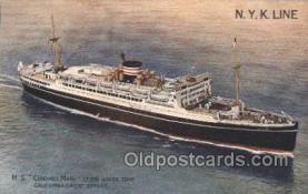 NYK001409 - M.S. Chichibu Maru N.Y.K. Nippon Yusen Kaisha Ship Ships