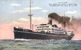 NYK001413 - S.S. Hakusan Maru N.Y.K. Nippon Yusen Kaisha Ship Ships