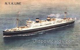 NYK001415 - M.S. Tatsuta Maru N.Y.K. Nippon Yusen Kaisha Ship Ships