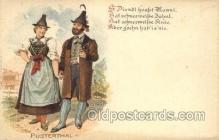 nat001002 - Pusterthal Native Costume Postcard Postcards