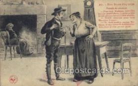 nat001003 - Nos Bons Paysans Native Costume Postcard Postcards