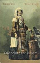 nat001019 - Grec Native Costume Postcard Postcards