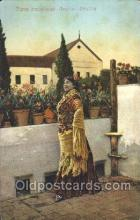 nat001035 - Tipos Andalucee-Gracia-Sevilla Native Costume Postcard Postcards