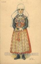 nat001047 - Native Costume Postcard Postcards