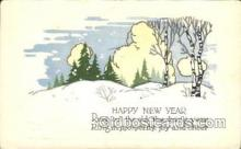new001025 - New Years Day Postcard Postcards
