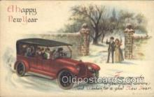 new001031 - Artist Wall, International Art Publishing Co. New Years Day Postcard Postcards