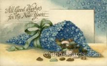 new001058 - Artist Clapsaddle, New Year Post Card Postcards