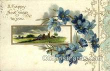 new001060 - Artist Clapsaddle, New Year Post Card Postcards