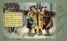 new001062 - Artist Clapsaddle, New Year Post Card Postcards