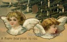new001066 - Artist Clapsaddle, New Year Post Card Postcards