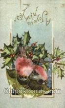new001075 - Artist Clapsaddle, New Year Post Card Postcards
