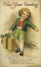 new001085 - Artist Ellen Clapsaddle, New Year Post Card Postcards