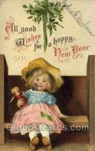 new001091 - New Year Post Cards Postcard