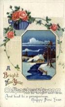 new001125 - New Year Post Cards Postcard