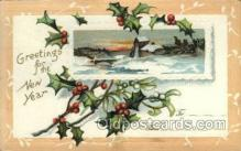 new001127 - New Year Post Cards Postcard
