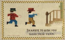 new001129 - Artist Ellen Clapsaddle, New Year Post Card Postcards