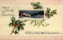 new001131 - New Year Post Cards Postcard