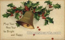 new001132 - Artist Ellen Clapsaddle, New Year Post Card Postcards