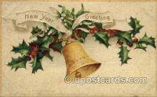 new001134 - New Year Post Cards Postcard