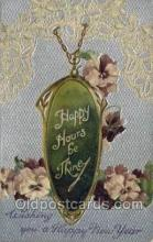 new001136 - New Year Post Cards Postcard