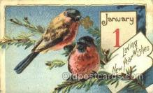 new001162 - New Years Eve Postcard Post Cards Old Vintage Antique