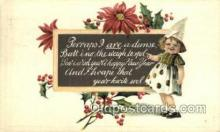 new001167 - New Years Eve Postcard Post Cards Old Vintage Antique