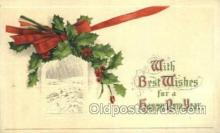 new001177 - New Years Eve Postcard Post Cards Old Vintage Antique