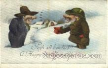 new001182 - New Years Eve Postcard Post Cards Old Vintage Antique