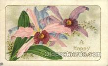 new001212 - New Years Eve Postcard Post Cards Old Vintage Antique