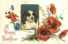 new001230 - New Years Eve Postcard Post Cards Old Vintage Antique