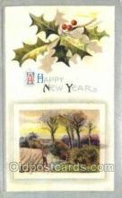 new001262 - New Years Eve Postcard Post Cards Old Vintage Antique