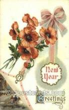 new001271 - New Years Eve Postcard Post Cards Old Vintage Antique
