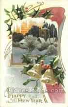 new001273 - New Years Eve Postcard Post Cards Old Vintage Antique