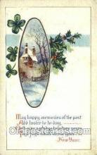 new001279 - New Years Eve Postcard Post Cards Old Vintage Antique