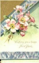 new001281 - New Years Eve Postcard Post Cards Old Vintage Antique