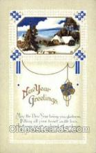 new001282 - New Years Eve Postcard Post Cards Old Vintage Antique