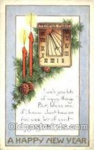 new001293 - New Years Eve Postcard Post Cards Old Vintage Antique