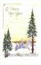 new001331 - New Years Eve Postcard Post Cards Old Vintage Antique