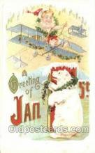 new001333 - New Years Eve Postcard Post Cards Old Vintage Antique