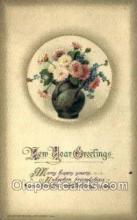new001342 - New Years Eve Postcard Post Cards Old Vintage Antique